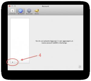 Apple Calendar Setup step 2