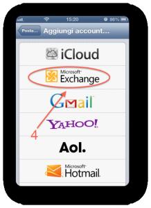 IOS exchange per iPhone