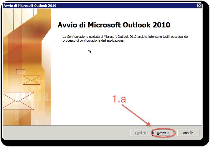 Outlook2010 setup