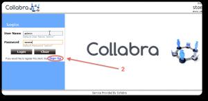 Configurazione client data back up