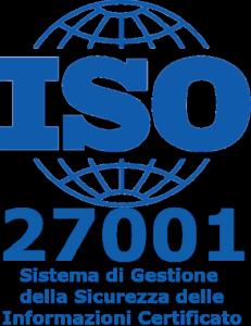 Sistema di Gestione della Sicurezza delle Informazioni Certificato ISO 27001