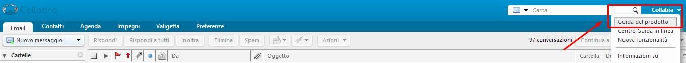Webmail Collabra - Guida Zimbra