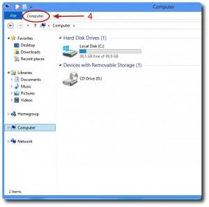 Valigetta Collabra su Windows 8